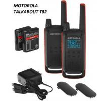 Motorola TALKABOUT T82 радиопереговорное устройство walkie-talkie (пара)