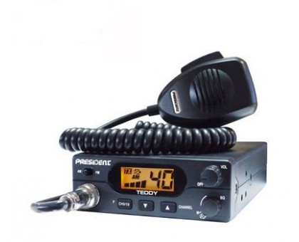 President Teddy ASC радиостанция 27 МГц