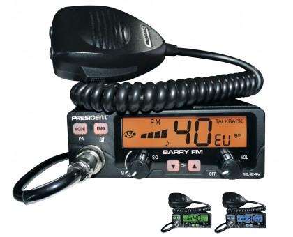 President Barry ASC радиостанция 27 МГц
