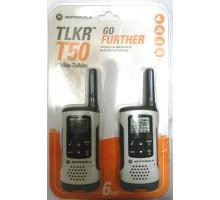 Motorola TLKR T-50 переговорное устройство walkie-talkie (пара)